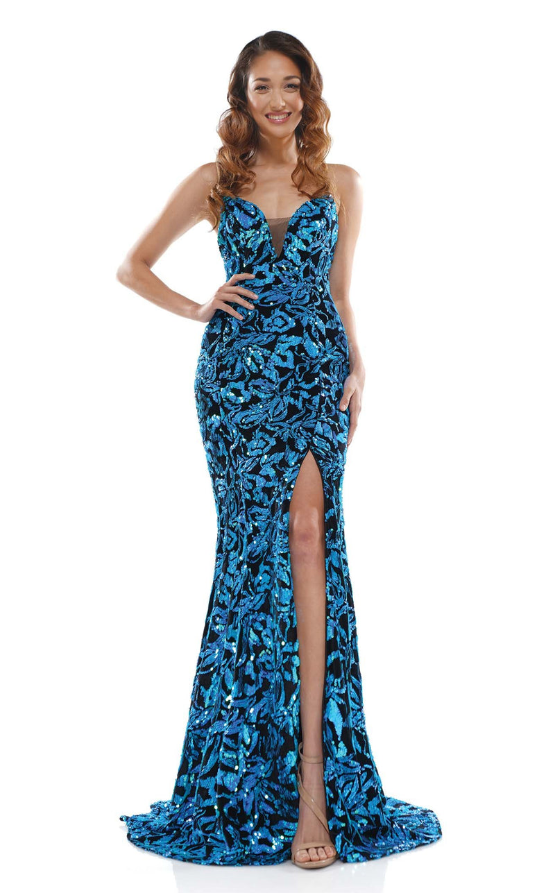 Colors Dress 2277 Dress Turquoise