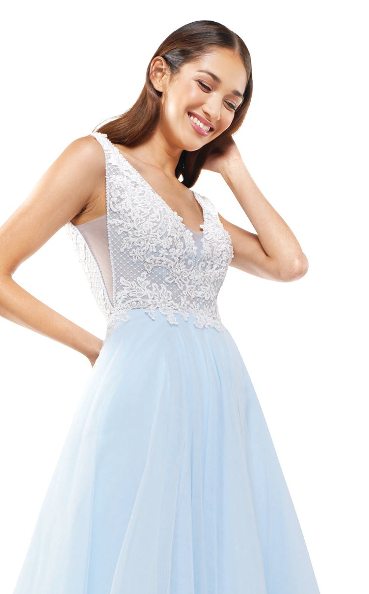 Colors Dress 2284 Dress Blue