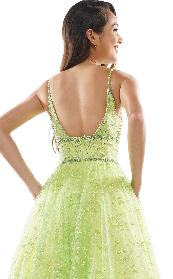 Colors Dress 2288 Dress Lime
