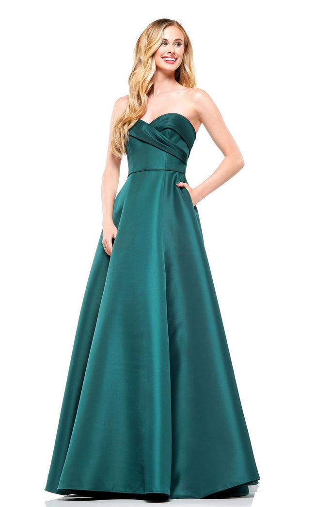 Colors Dress 2291 Dress Deep-Green