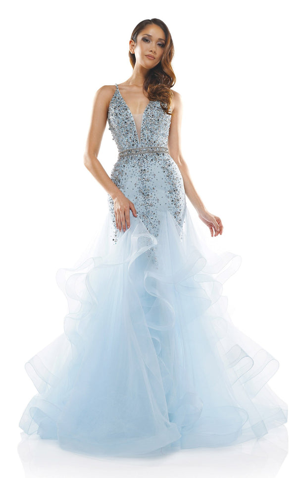 Colors Dress 2301 Dress Baby-Blue