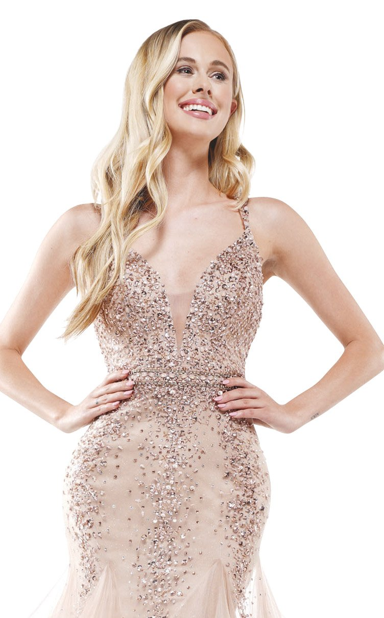 Colors Dress 2301 Dress Rose-Gold