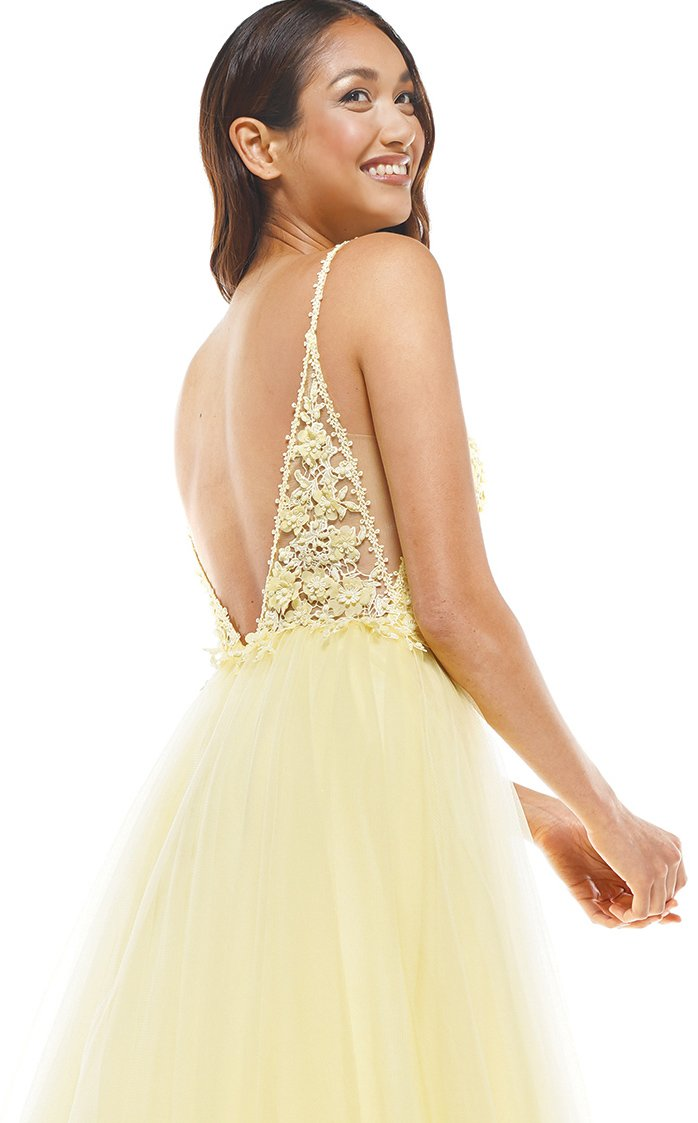 Colors Dress 2311 Dress Yellow