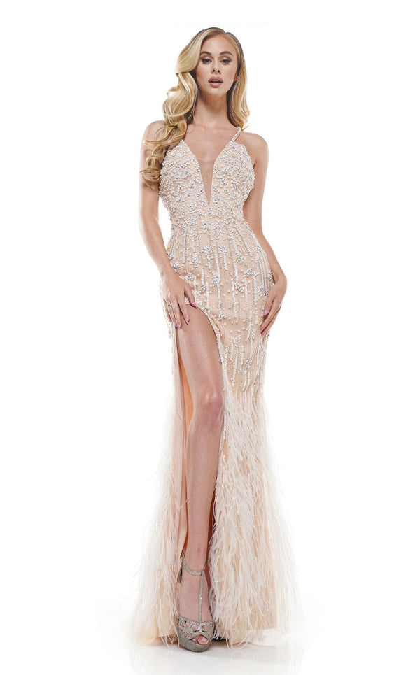 Colors Dress 2328 Dress Nude