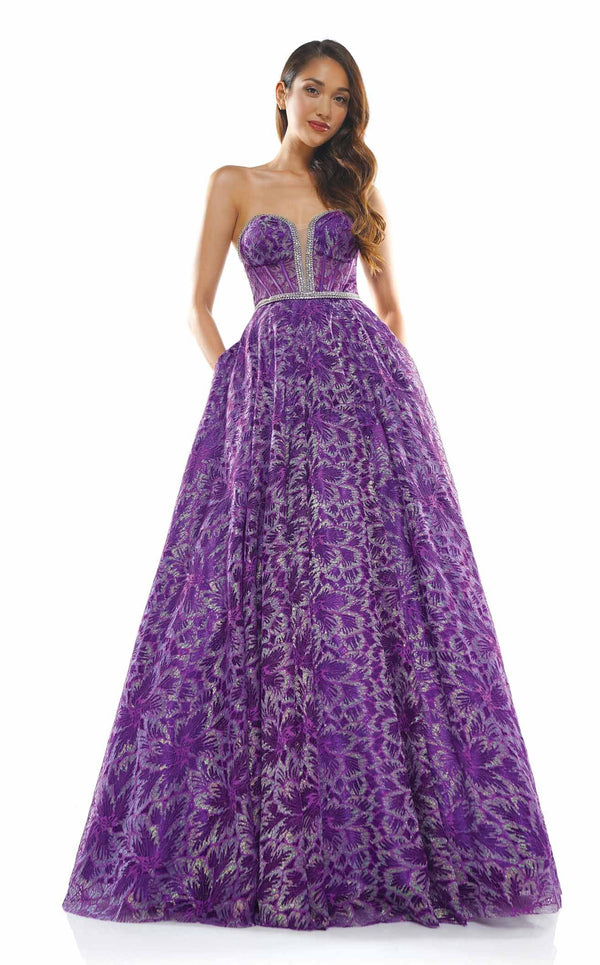 Colors Dress 2329 Dress Purple