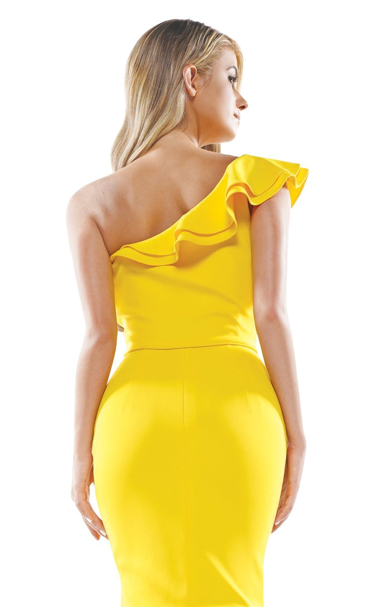 Colors Dress 2341 Dress Yellow
