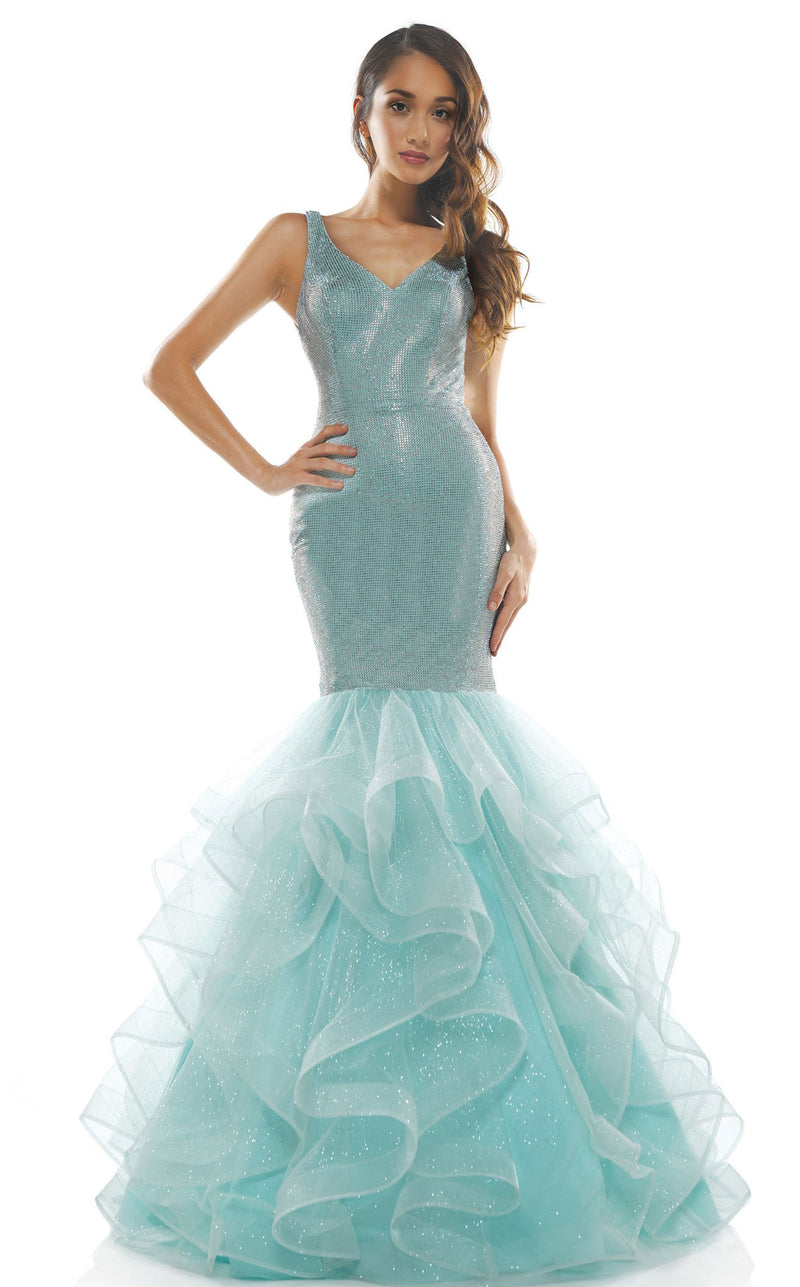 Colors Dress 2351 Dress Aqua