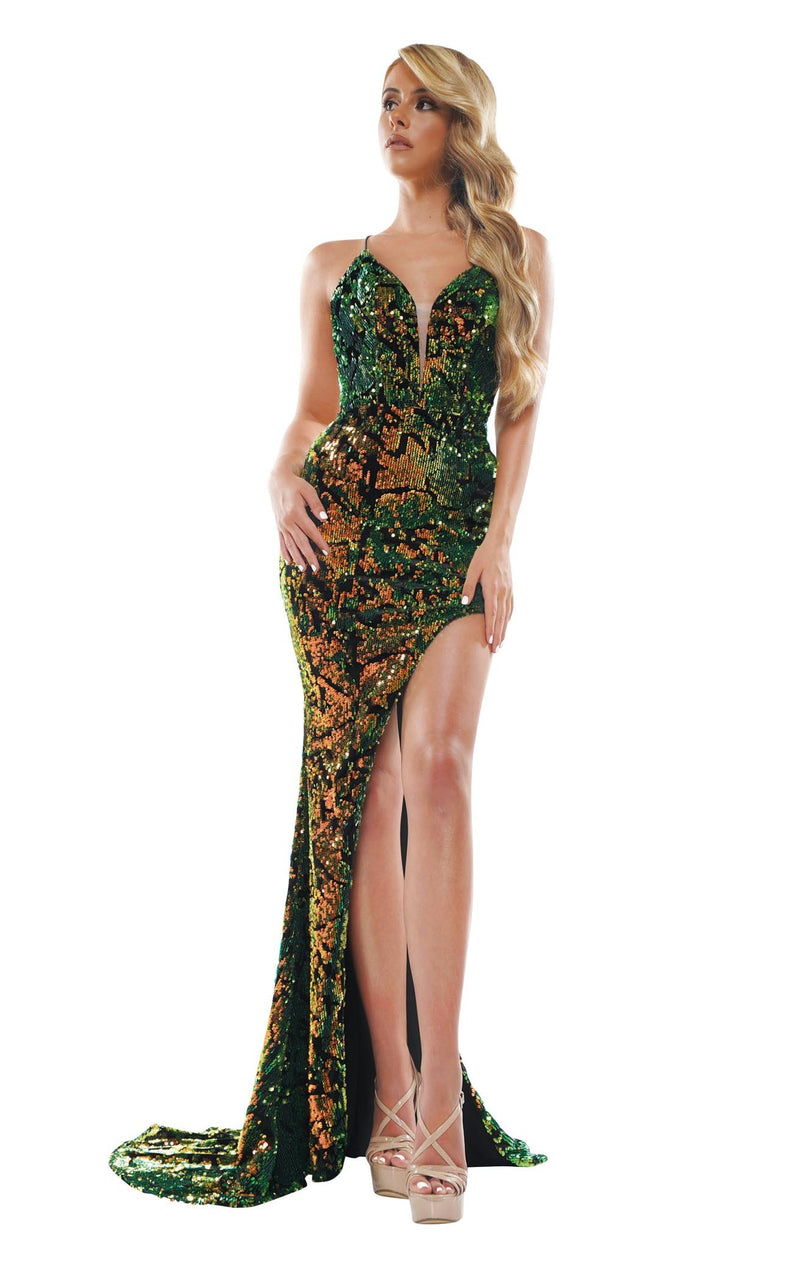 Colors Dress 2380 Dress Deep-Green
