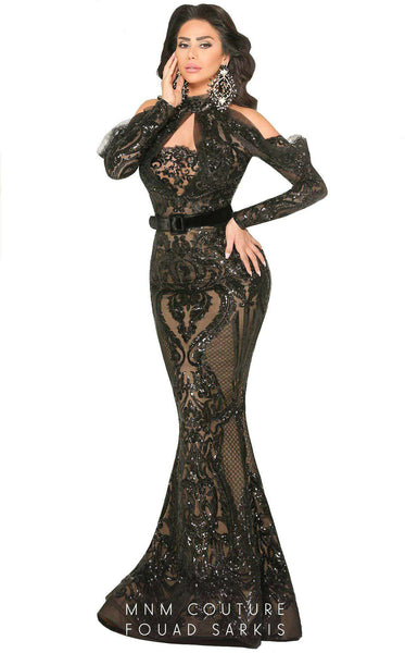 MNM Couture 2514 Black