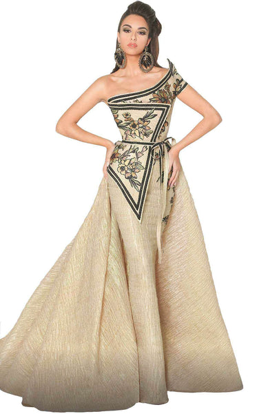 MNM Couture 2530 Dress Beige