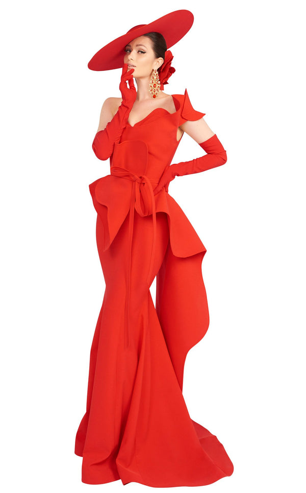 MNM Couture 2553 Red