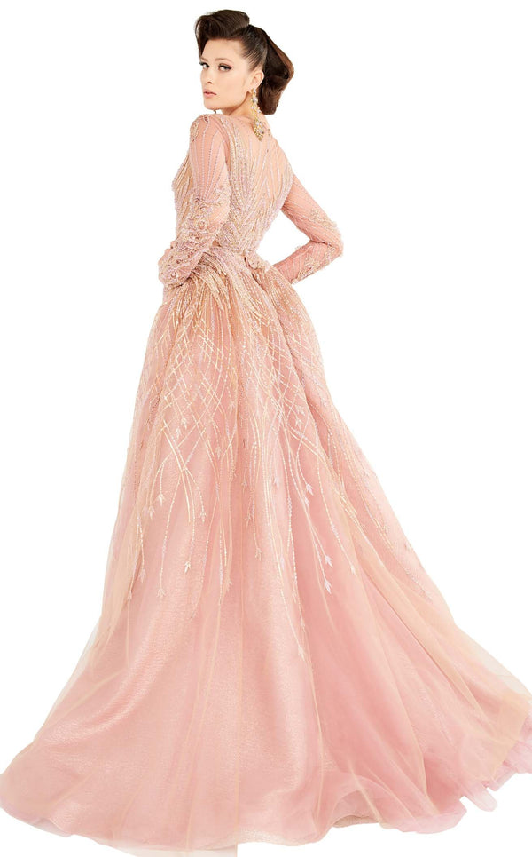 MNM Couture 2559 Dress Pink