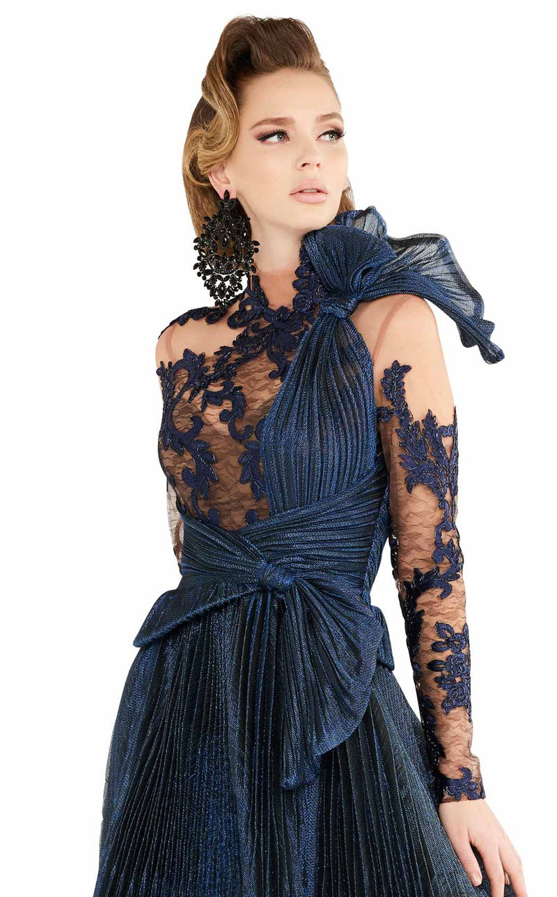 MNM Couture 2566 Dress Blue