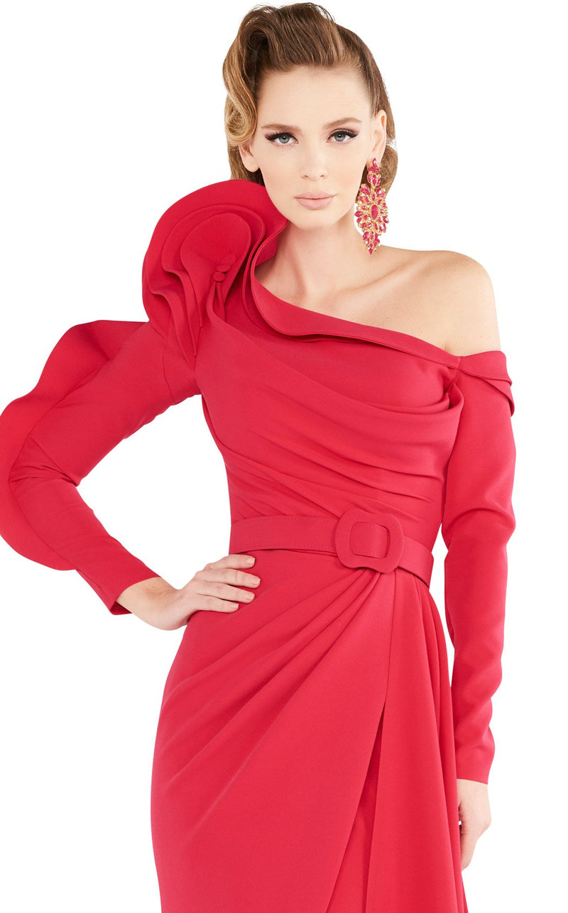 MNM Couture 2571 Dress Fuchsia