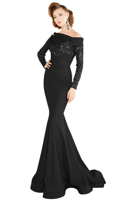 MNM Couture 2578 Dress Black