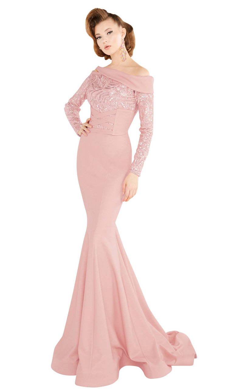 MNM Couture 2578 Dress Salmon