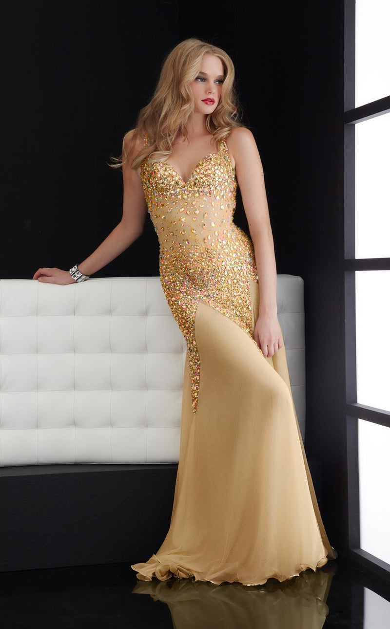 Jasz Couture 4614 Gold
