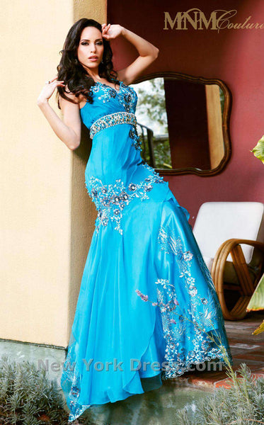 MNM Couture 6687 Turquoise