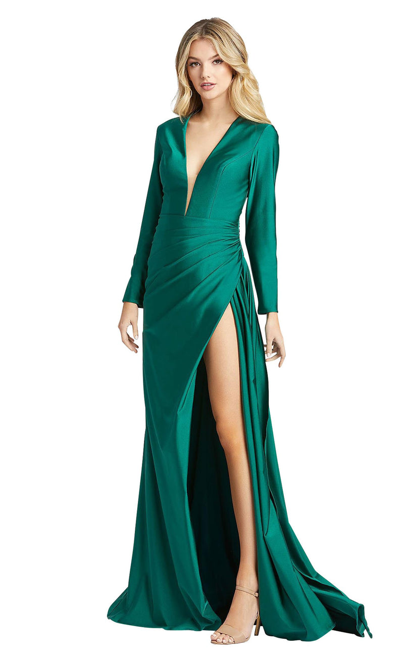 Mac Duggal 26250i Emerald-Green