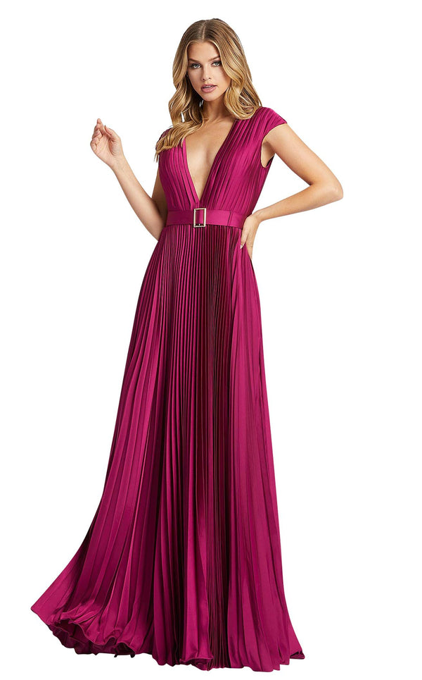 Mac Duggal 26285i Raspberry