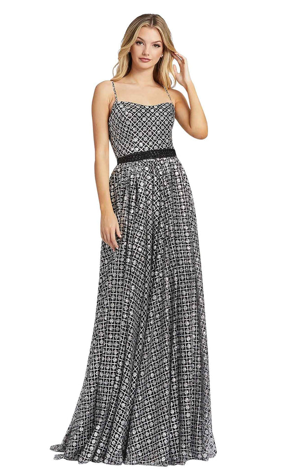 Mac Duggal 26294i Black-Silver