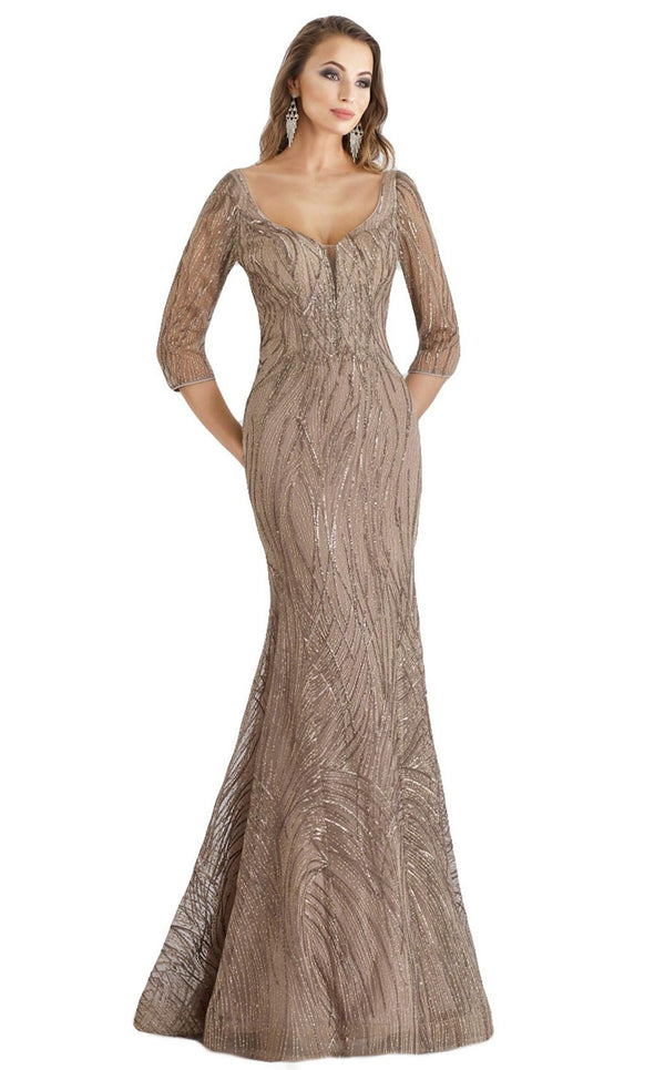 Feriani 26300 Dress Taupe