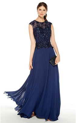 Alyce 27326 Dress Navy