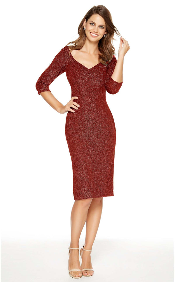 Alyce 27344 Dress Wine