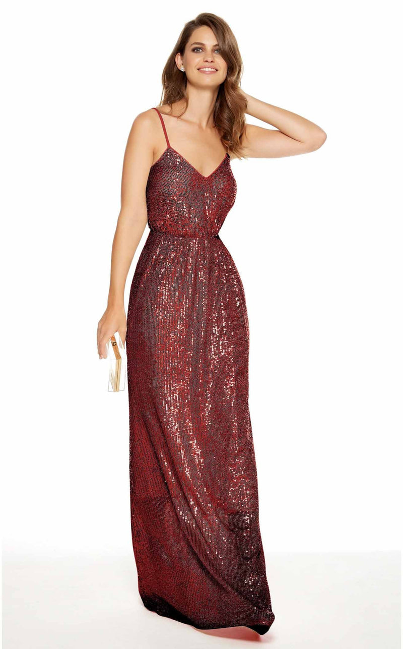 Alyce 27357 Dress Wine