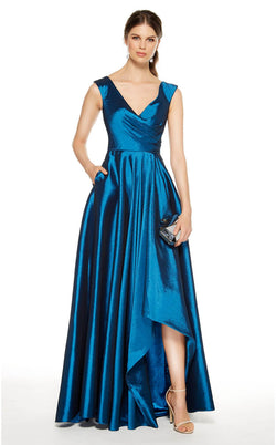 Alyce 27376 Dress Blue-Coral