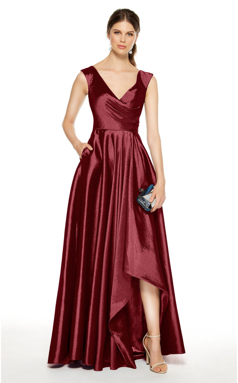 Alyce 27376 Dress Wine