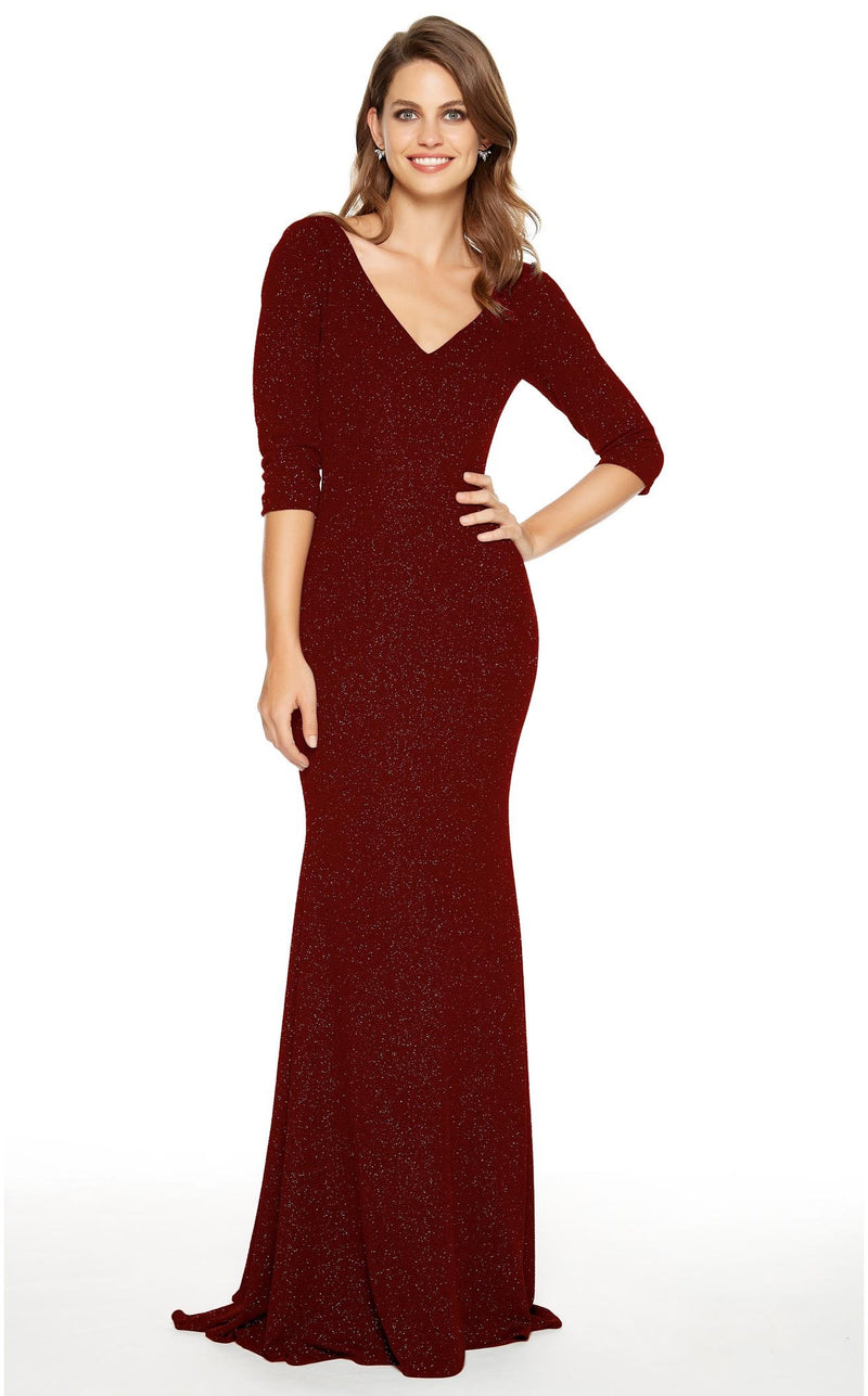 Alyce 27377 Dress Wine
