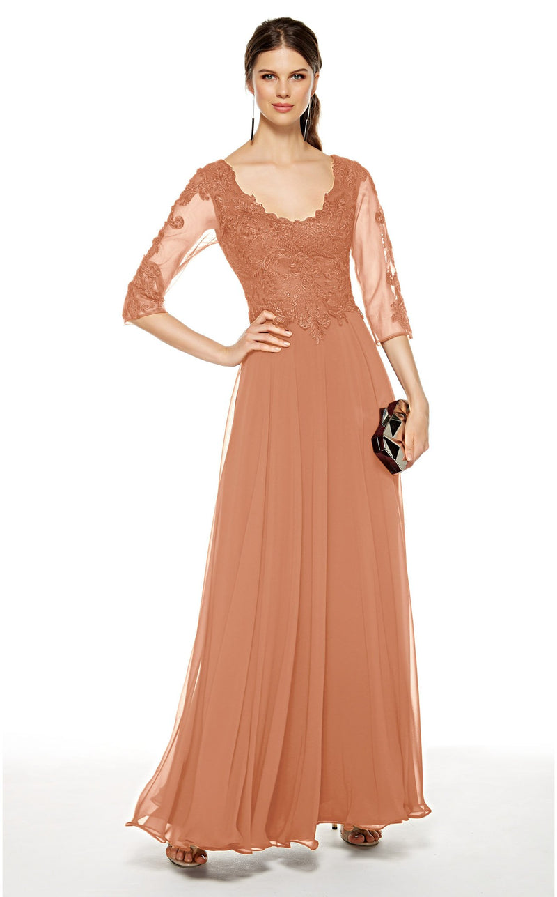 Alyce 27385 Dress Champagne
