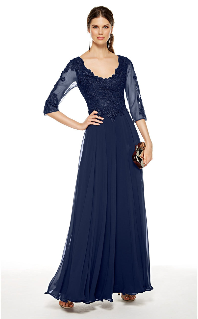Alyce 27385 Dress Navy