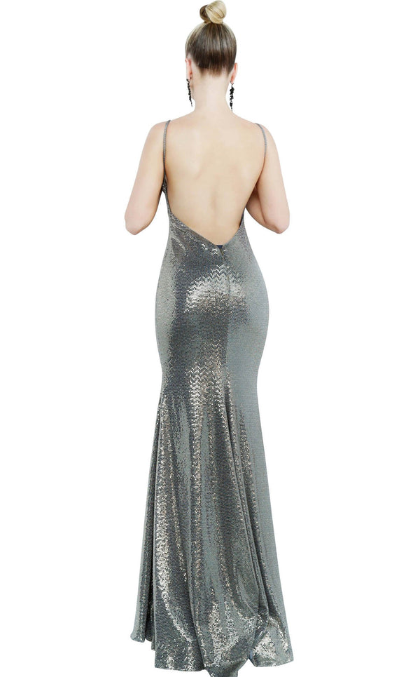 Jovani 2811 Black-Copper