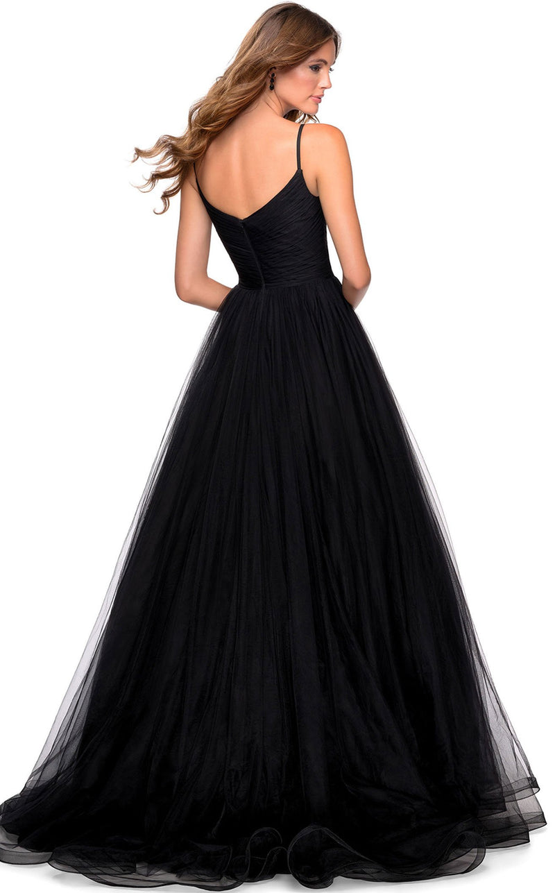 La Femme 28123 Dress Black