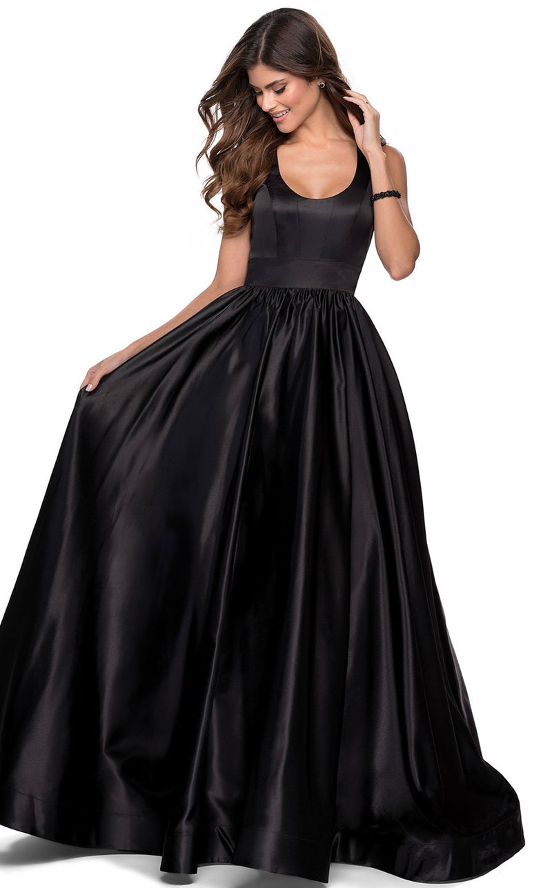 La Femme 28281 Dress Black