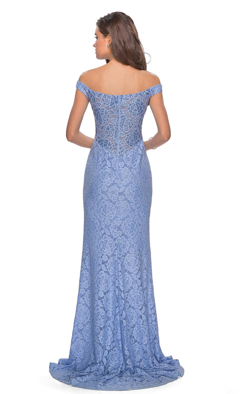 La Femme 28301 Dress Cloud-Blue