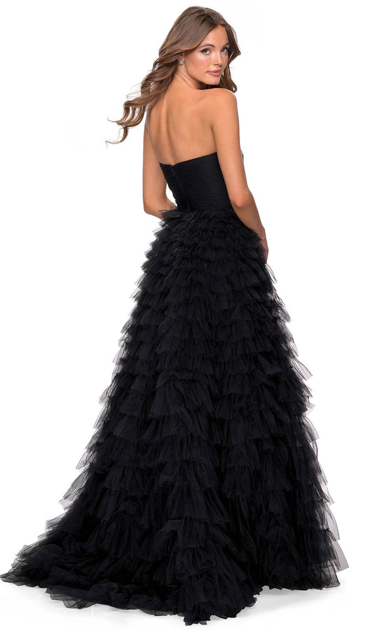 La Femme 28345 Dress Black