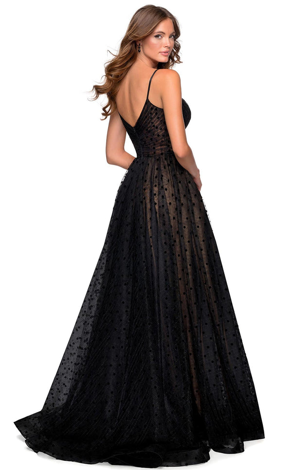 La Femme 28400 Dress Black