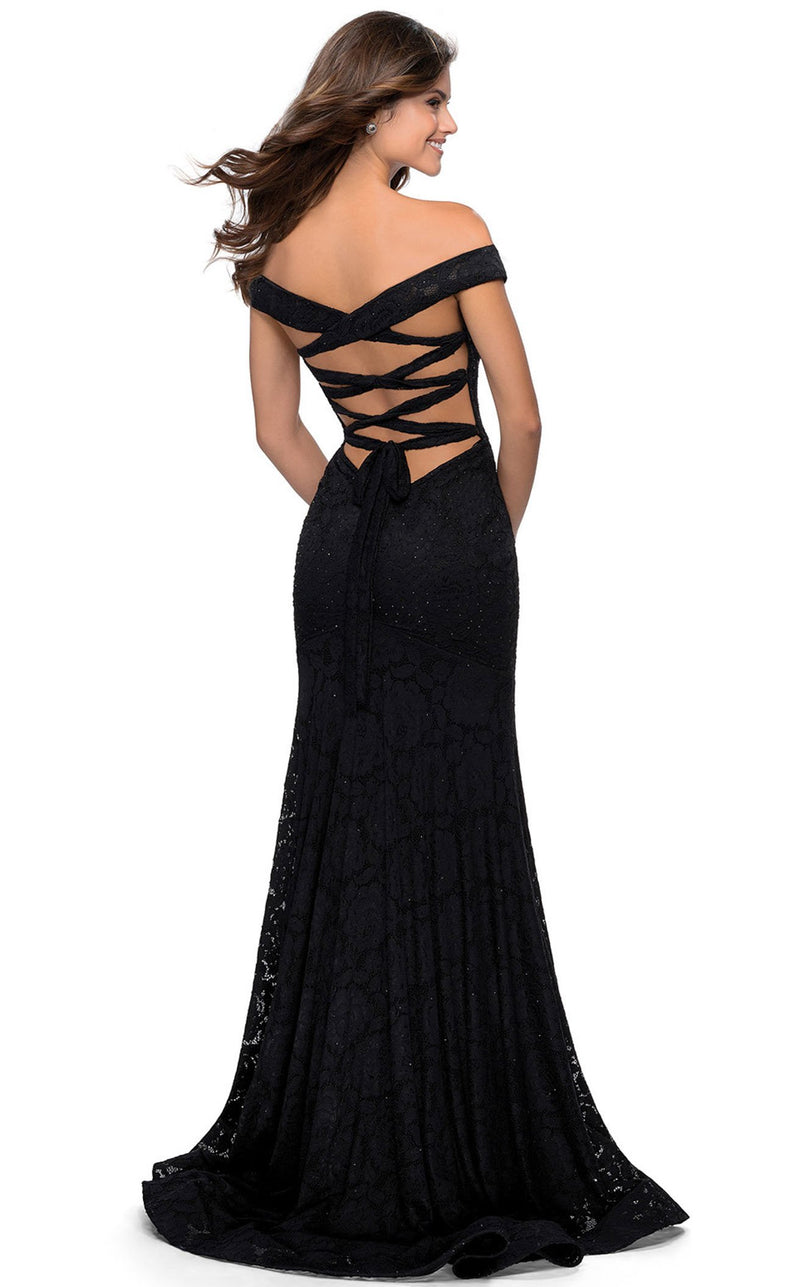 La Femme 28545 Dress Black