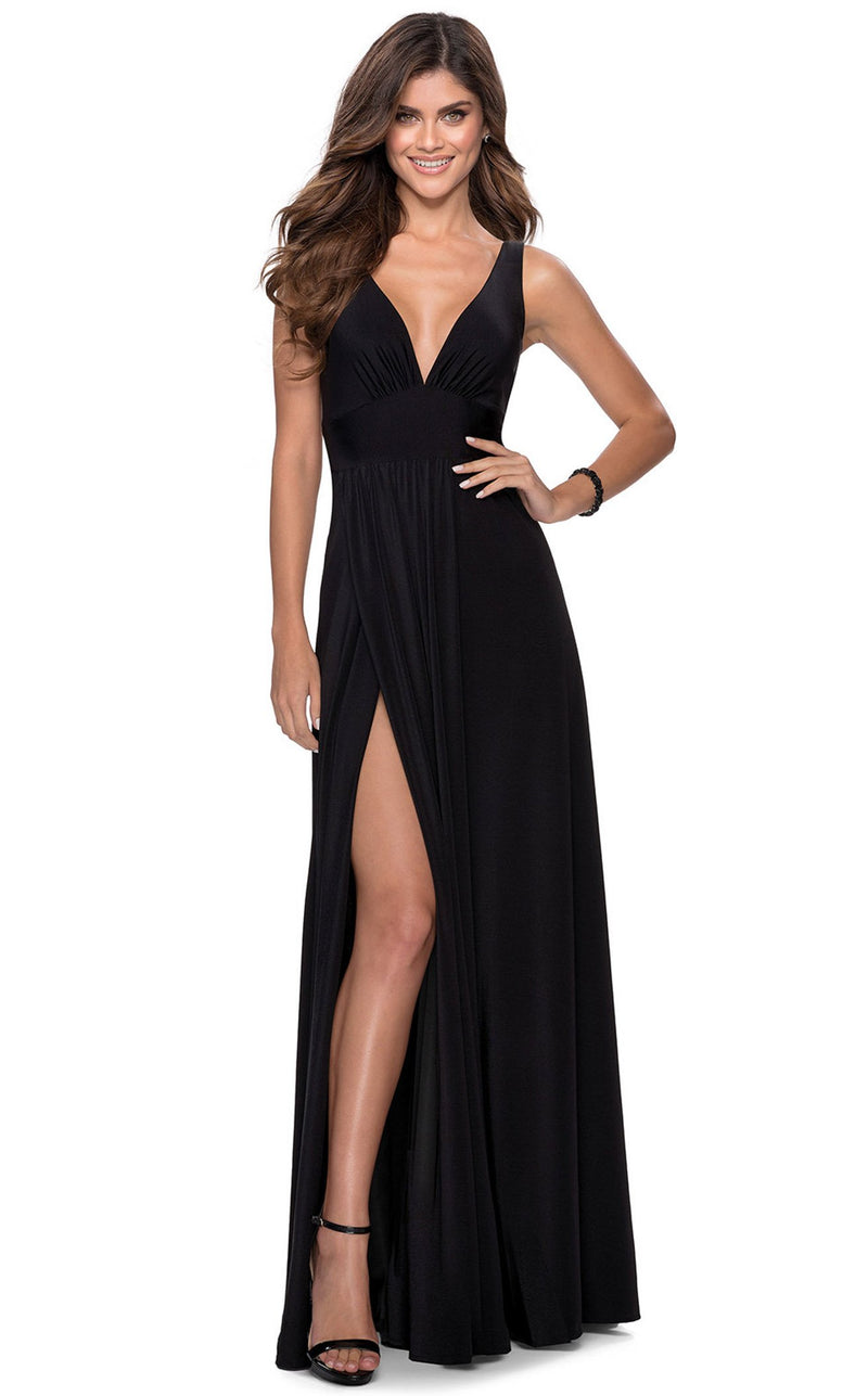 La Femme 28547 Dress Black