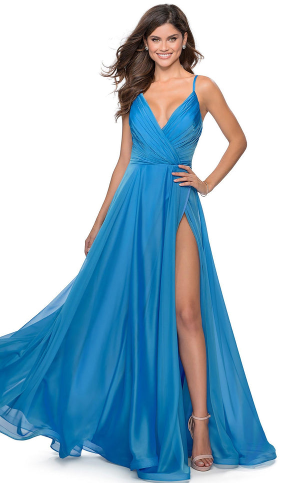 La Femme 28611 Dress Cloud-Blue