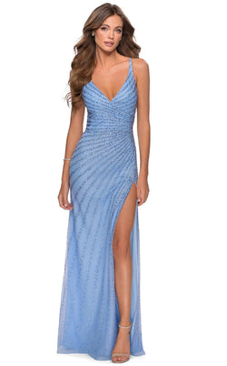 La Femme 28646 Dress Cloud-Blue