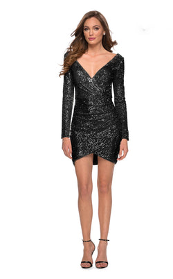 La Femme 29427 Dress Black