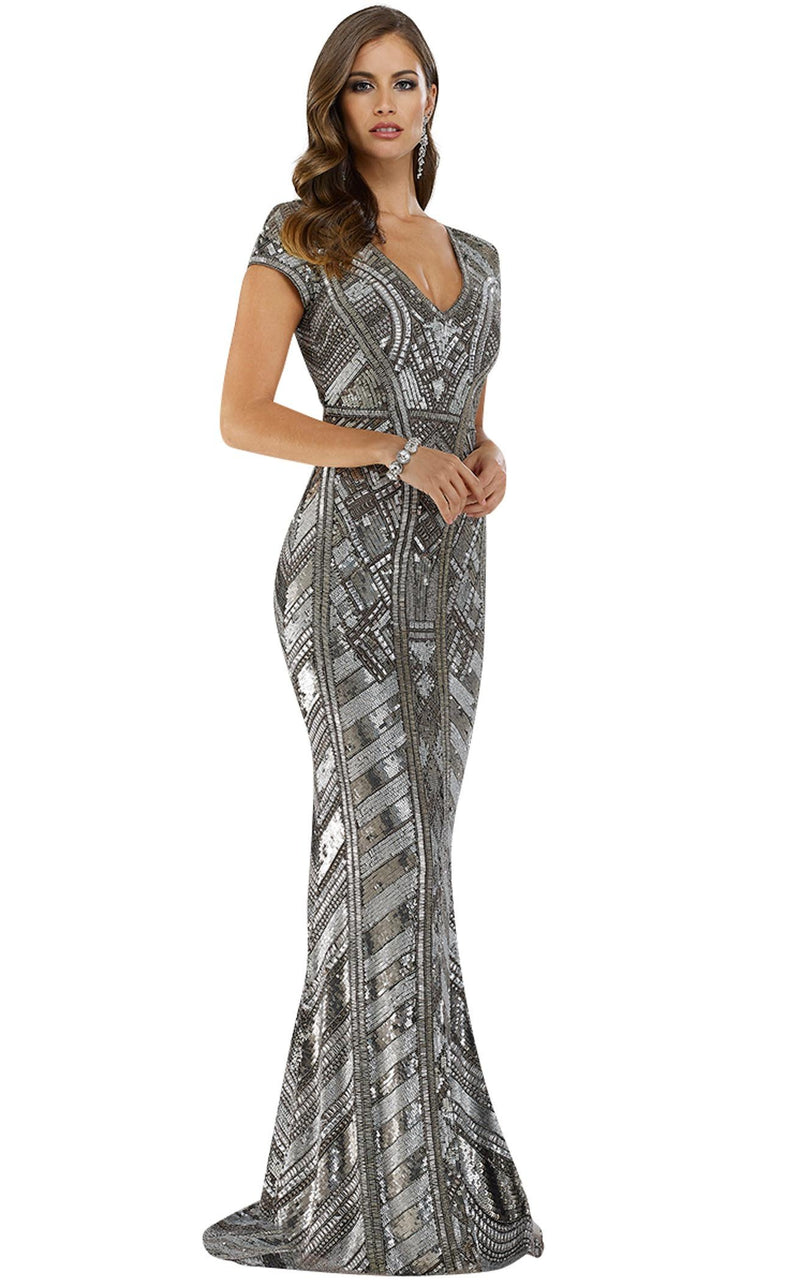 Lara 29540 Dress Platinum