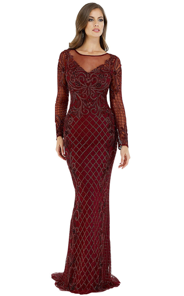 Lara 29603 Dress Wine