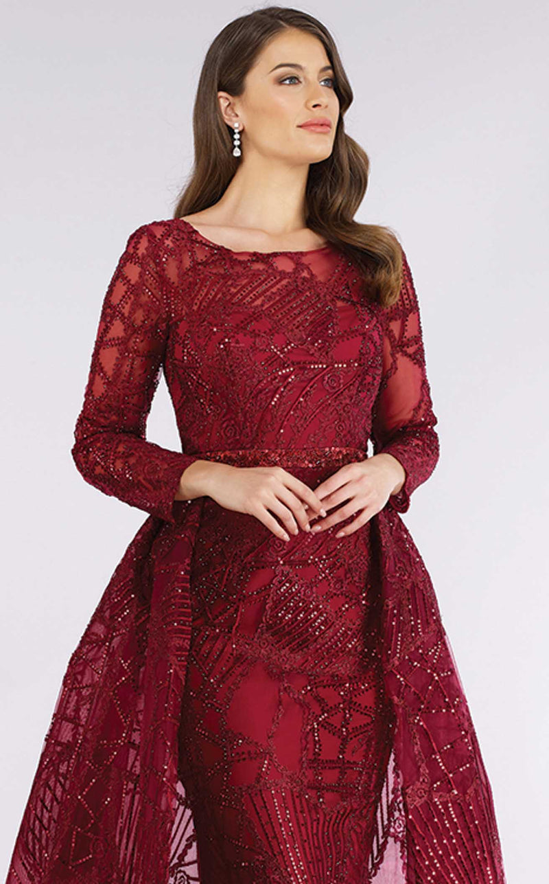 Lara 29633 Dark Red