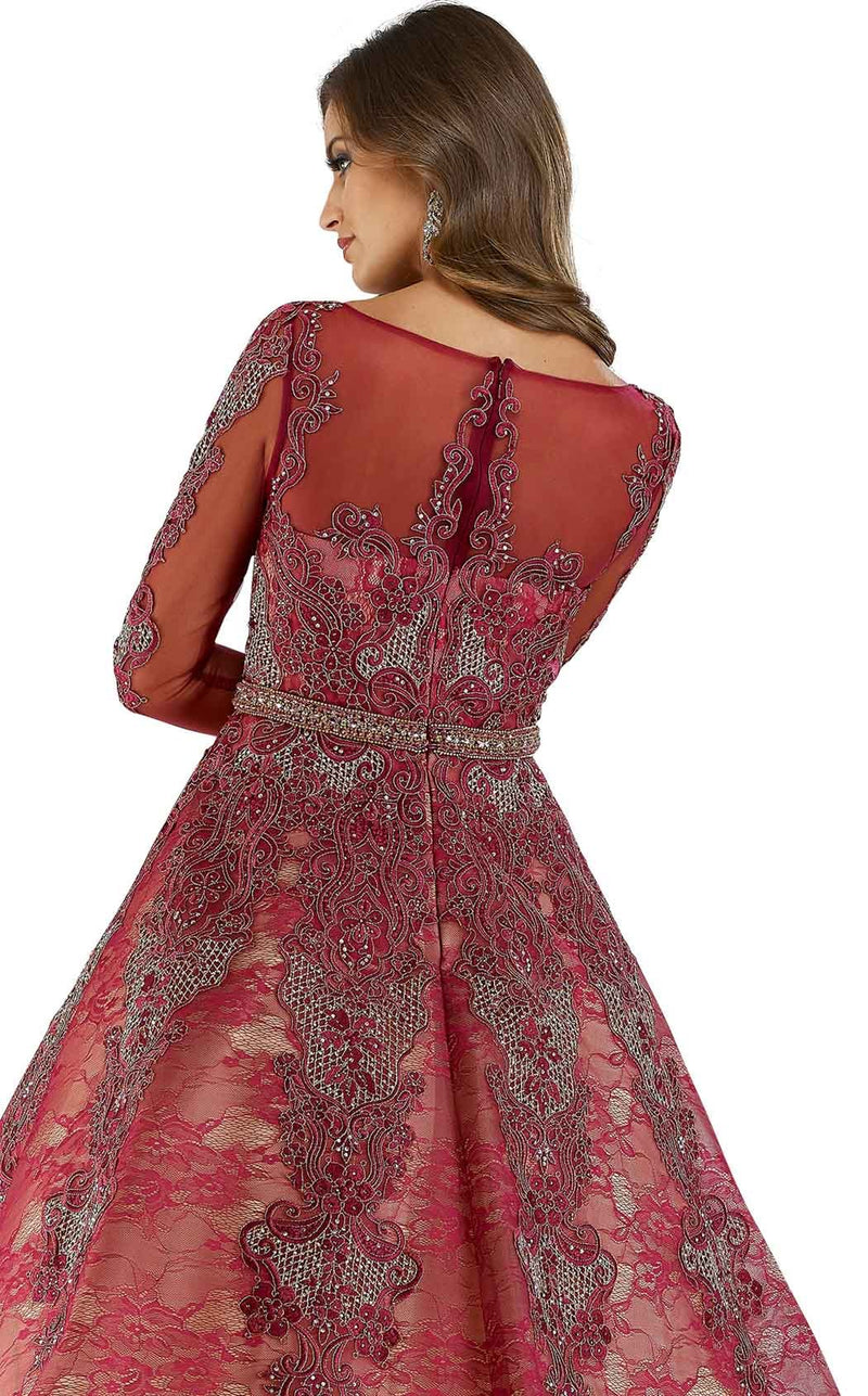 Lara 29679 Dress Cranberry