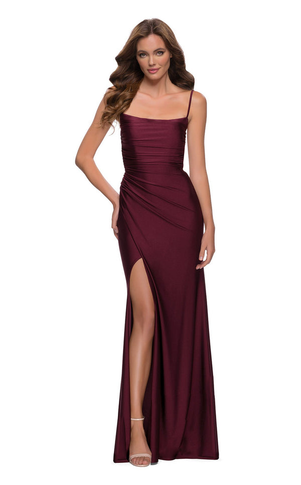 La Femme 29710 Dress Dark-Berry
